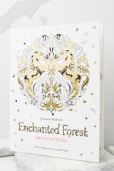2 Enchanted Forest Artist's Edition Coloring Book at reddress.com