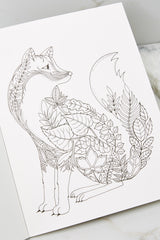 5 Enchanted Forest Artist's Edition Coloring Book at reddress.com
