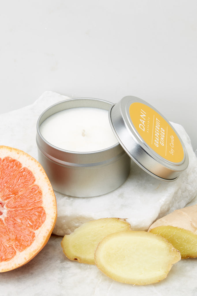 1 Grapefruit Ginger Essential Oil Sugar Scrub at reddress.com