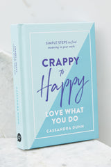 1 Crappy To Happy Book at reddress.com
