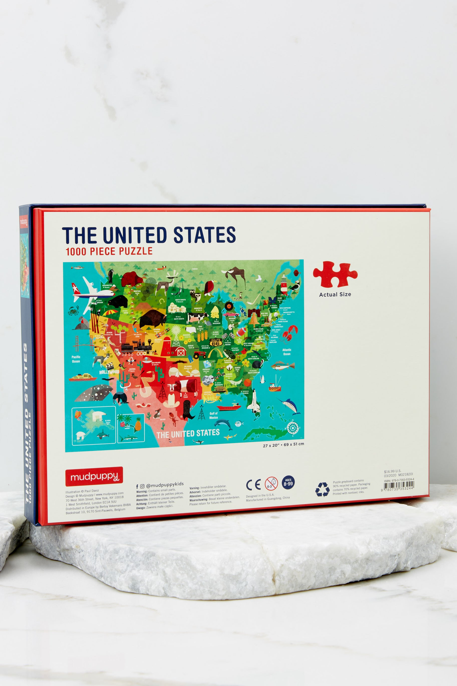 3 The United States Puzzle at reddress.com