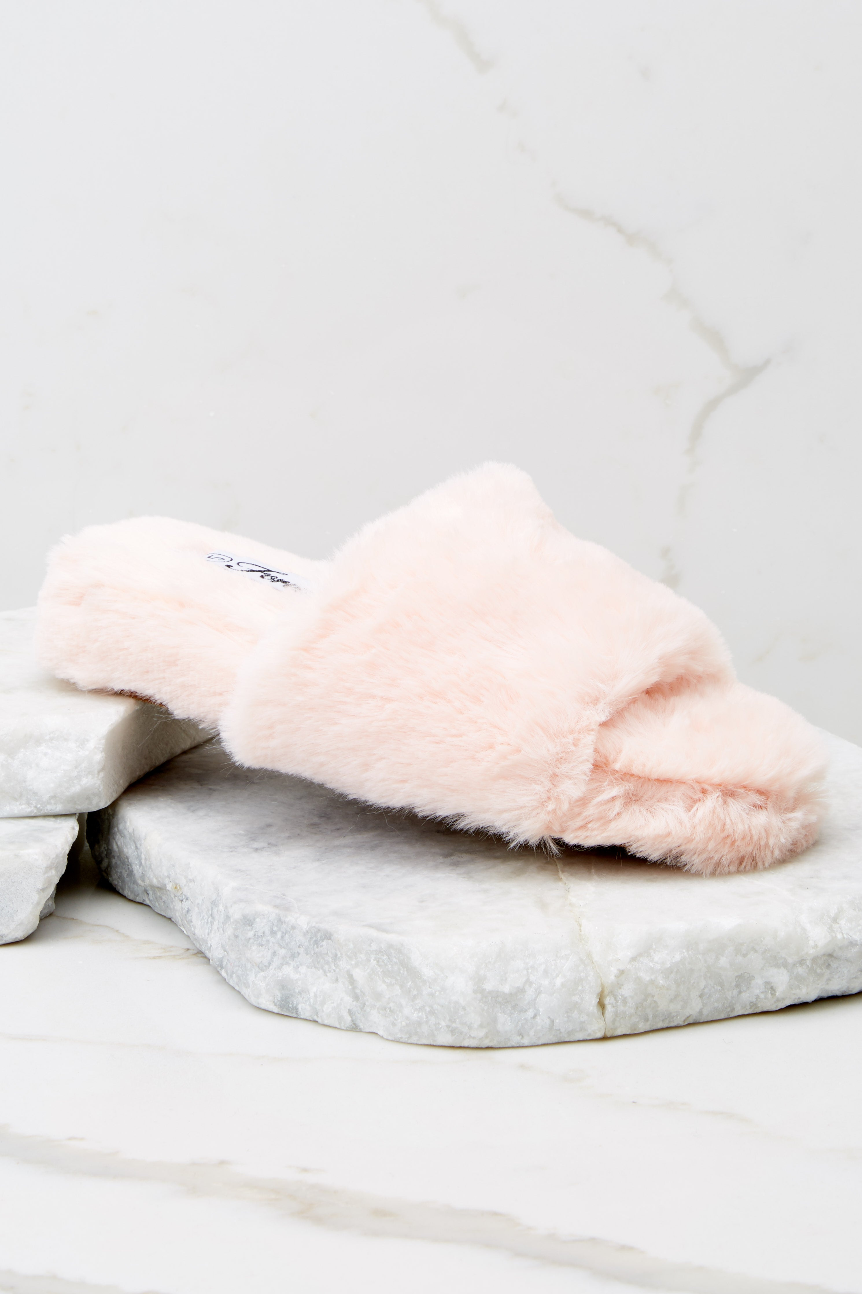 2 Plush Life Pink Slippers at reddress.com