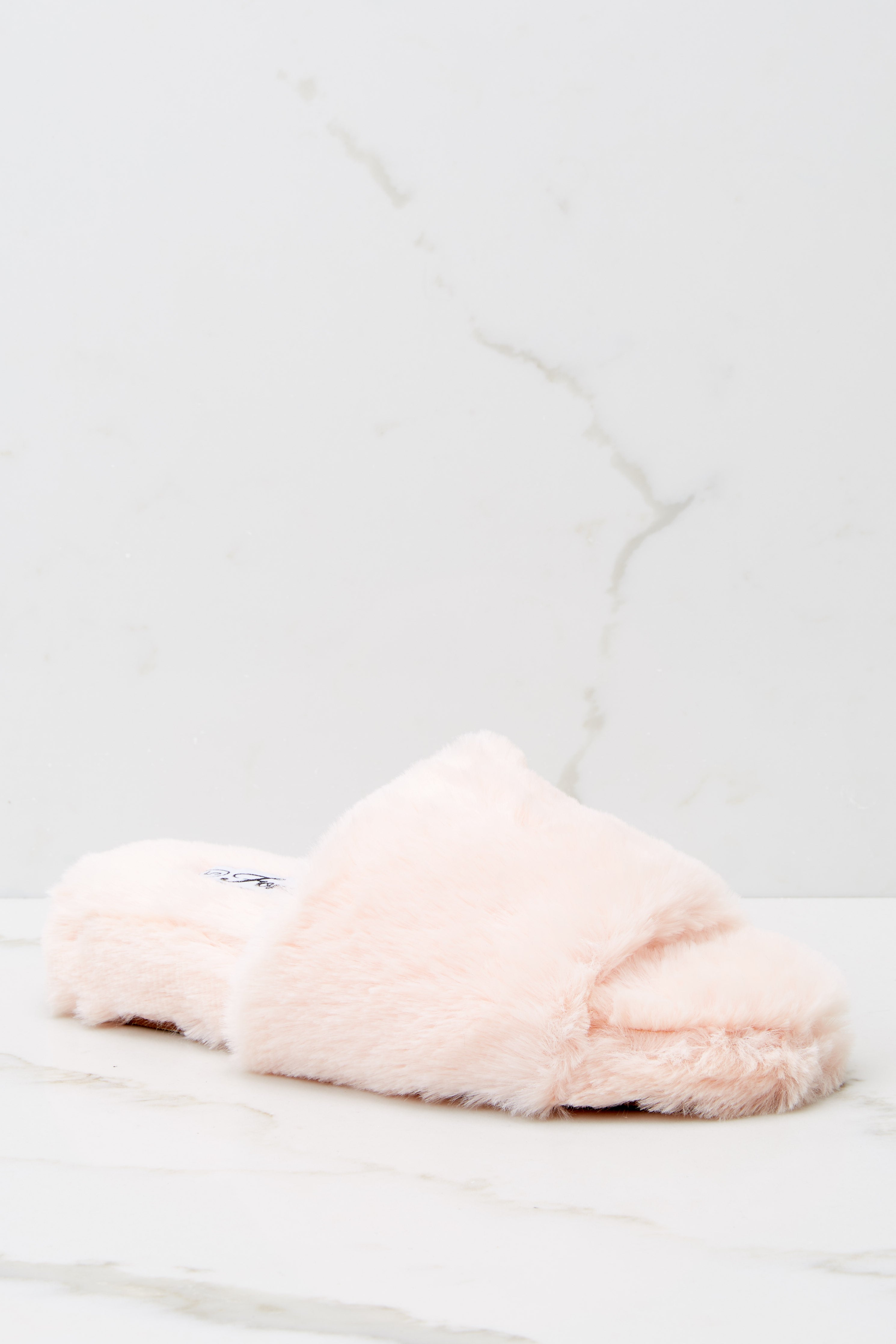 3 Plush Life Pink Slippers at reddress.com
