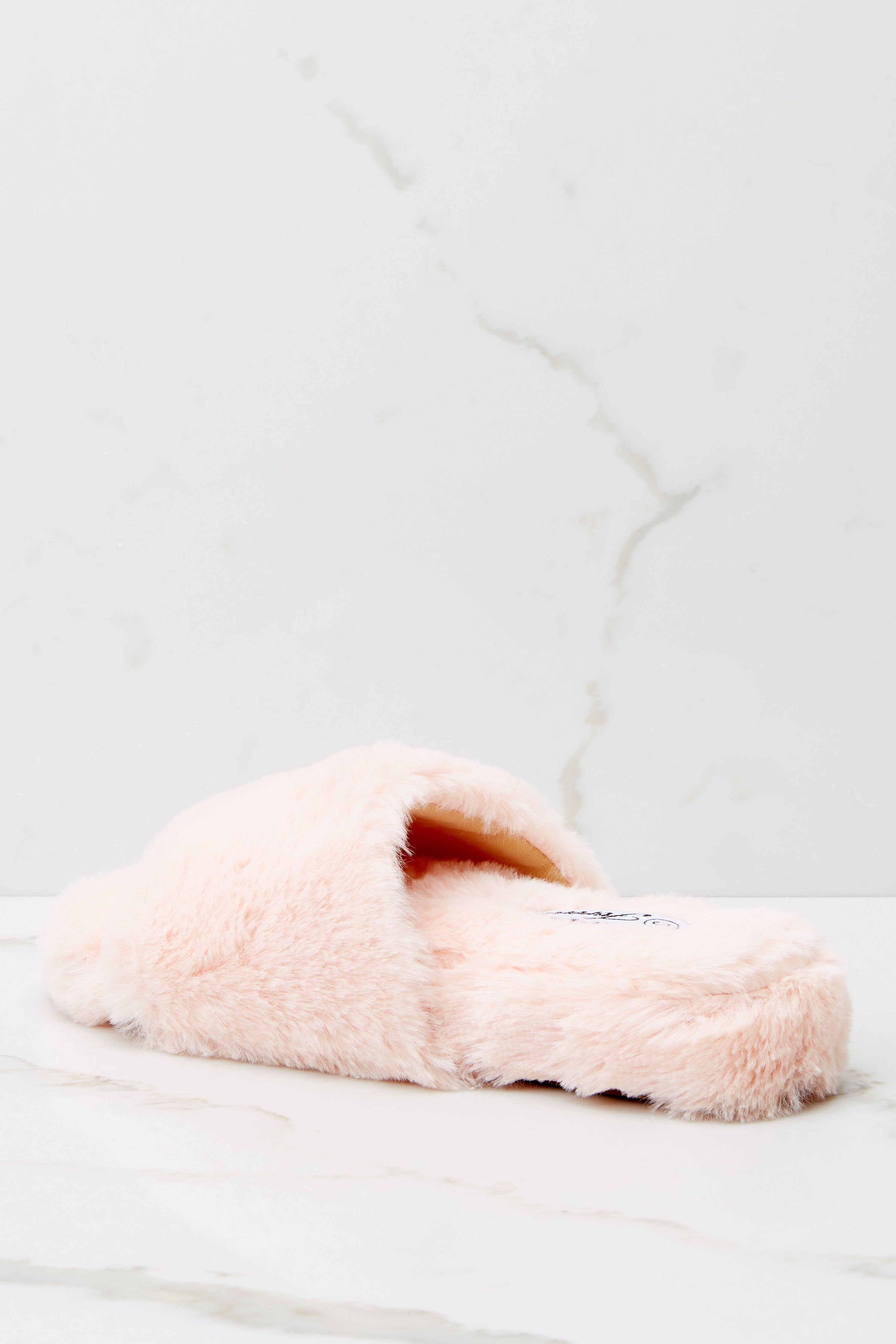 5 Plush Life Pink Slippers at reddress.com