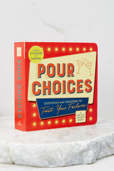 5 Pour Choices Coaster Board Book at reddress.com