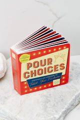1 Pour Choices Coaster Board Book at reddress.com