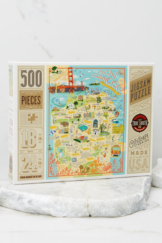 1 New York City Jigsaw Puzzle at reddress.com