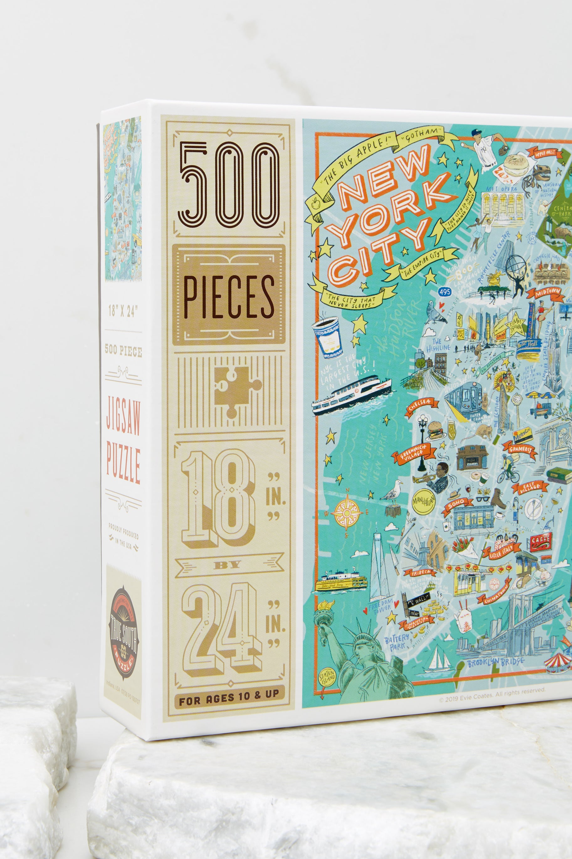 3 New York City Jigsaw Puzzle at reddress.com