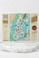 6 New York City Jigsaw Puzzle at reddress.com