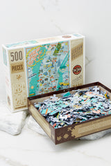 5 New York City Jigsaw Puzzle at reddress.com