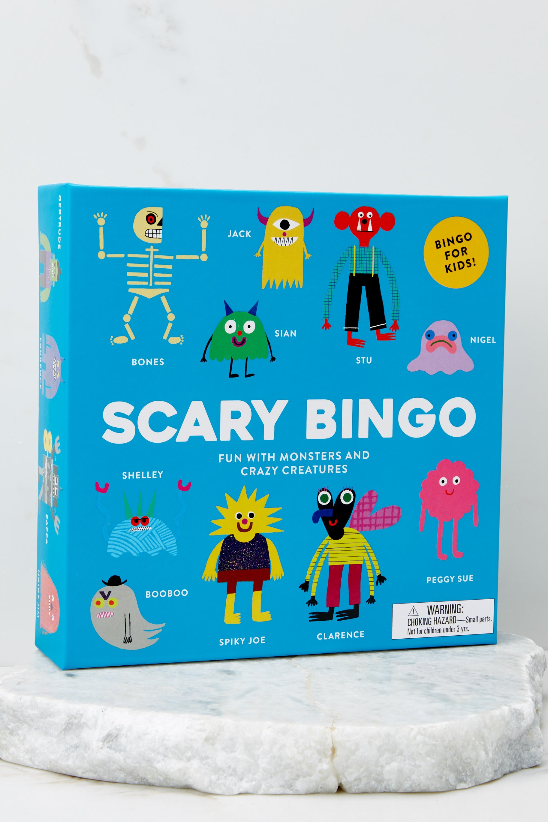 1 Scary Bingo Game at reddress.com