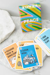 1 Peace A Card Game at reddress.com