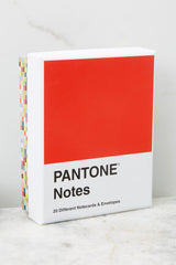 2 Pantone® Notecards at reddress.com