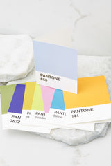 3 Pantone® Notecards at reddress.com