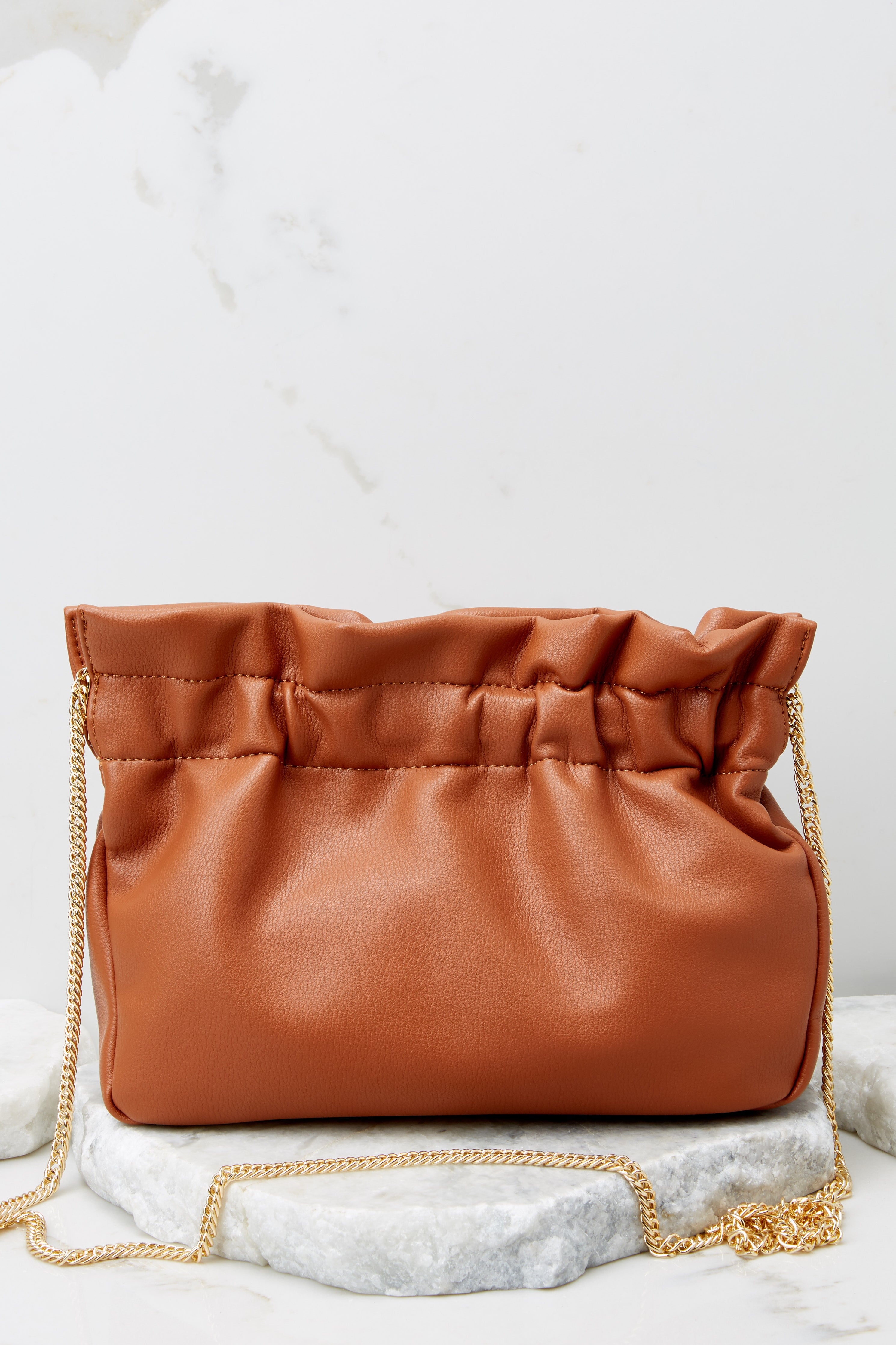 3 The Big Reveal Chestnut Clutch at reddress.com