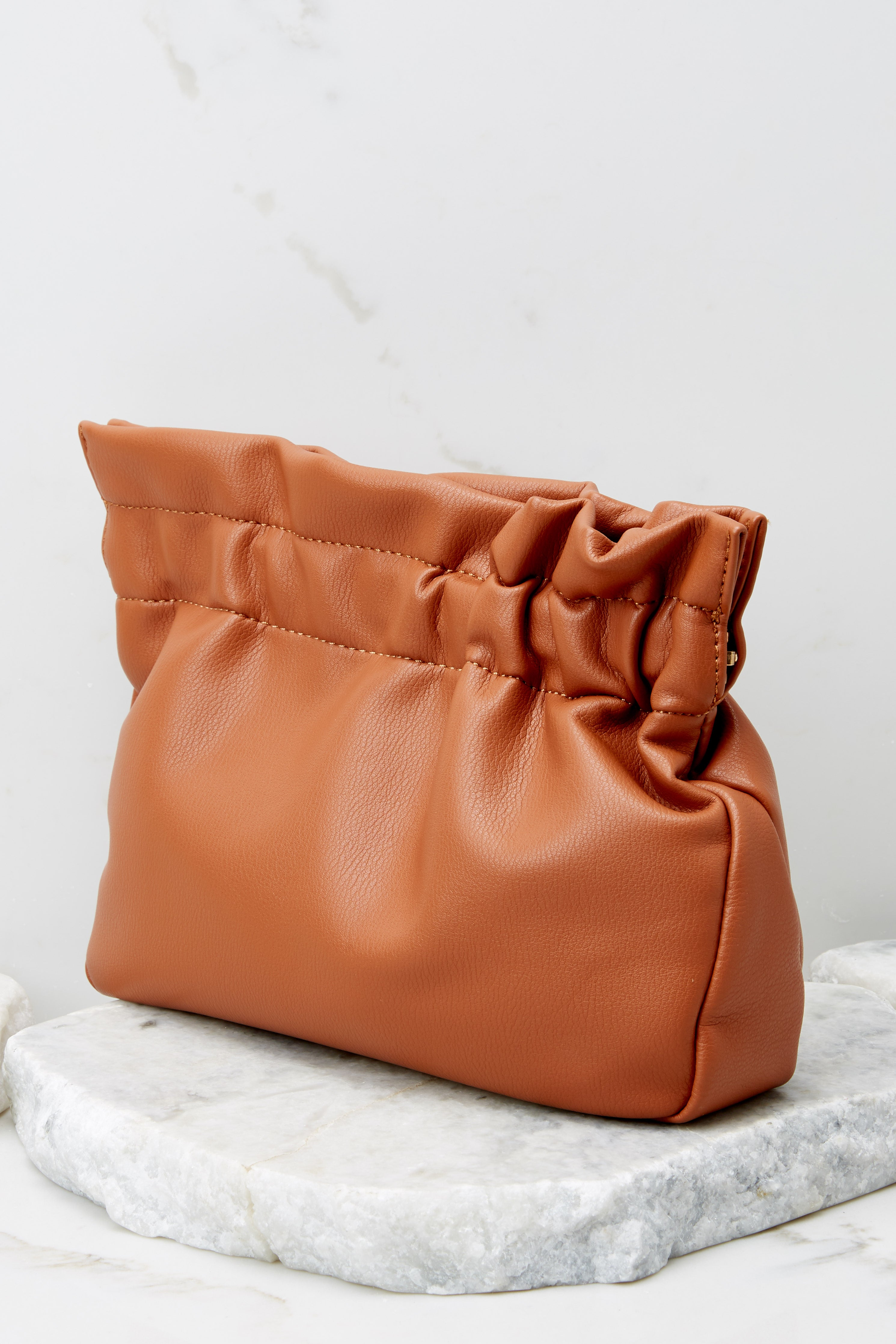 4 The Big Reveal Chestnut Clutch at reddress.com