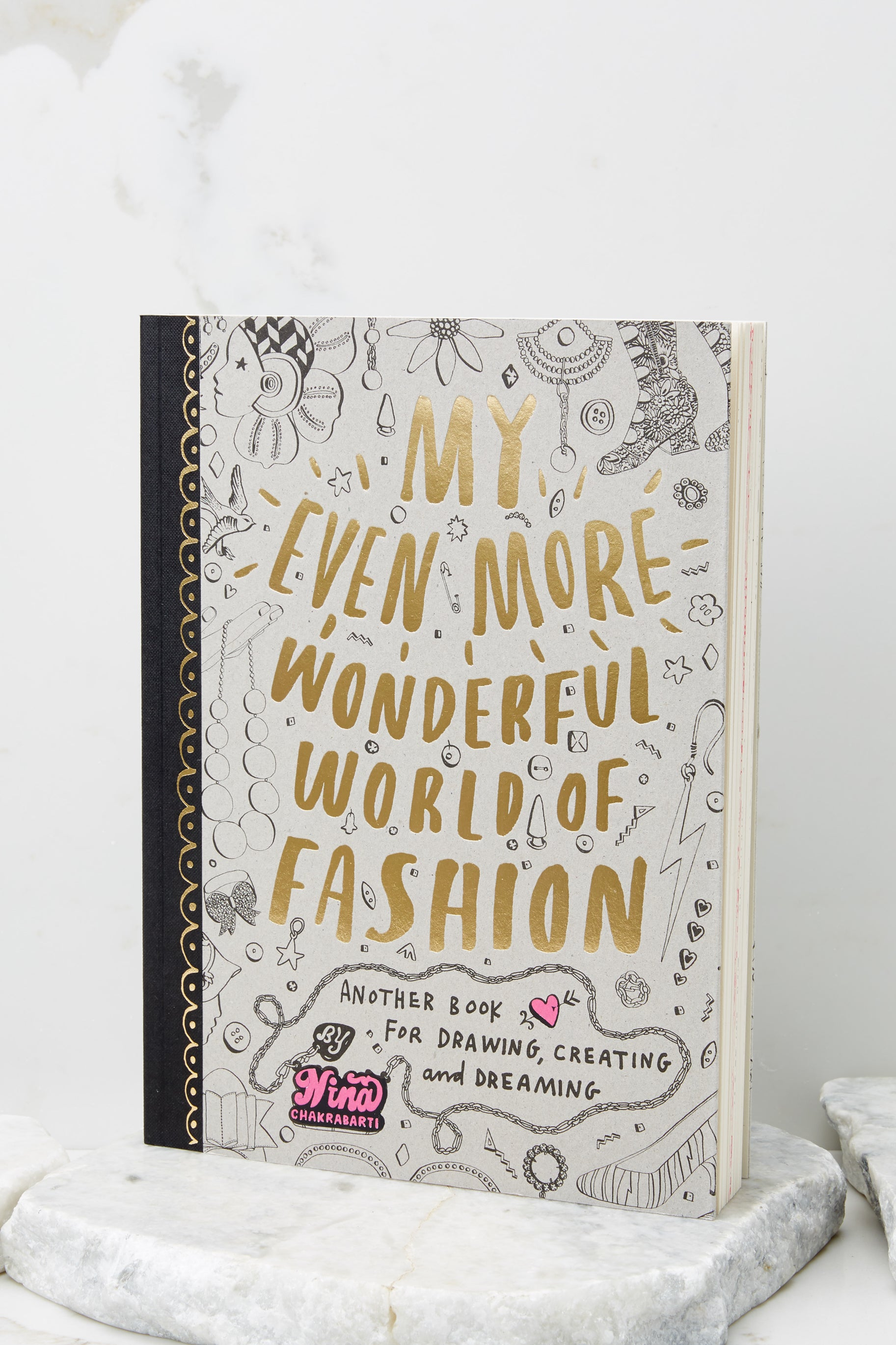 1 My Even More Wonderful World Of Fashion Activity Book at reddress.com
