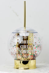 2 Let It Snow Glitter Globe Cup at reddress.com