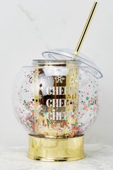 3 Let It Snow Glitter Globe Cup at reddress.com