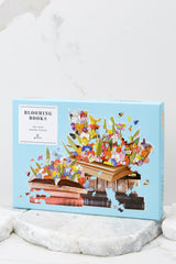 2 Blooming Books Shaped Puzzle at reddress.com