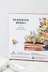 4 Blooming Books Shaped Puzzle at reddress.com