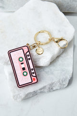 2 ban.do Break Up Song Silicone Keychain at reddressboutique.com