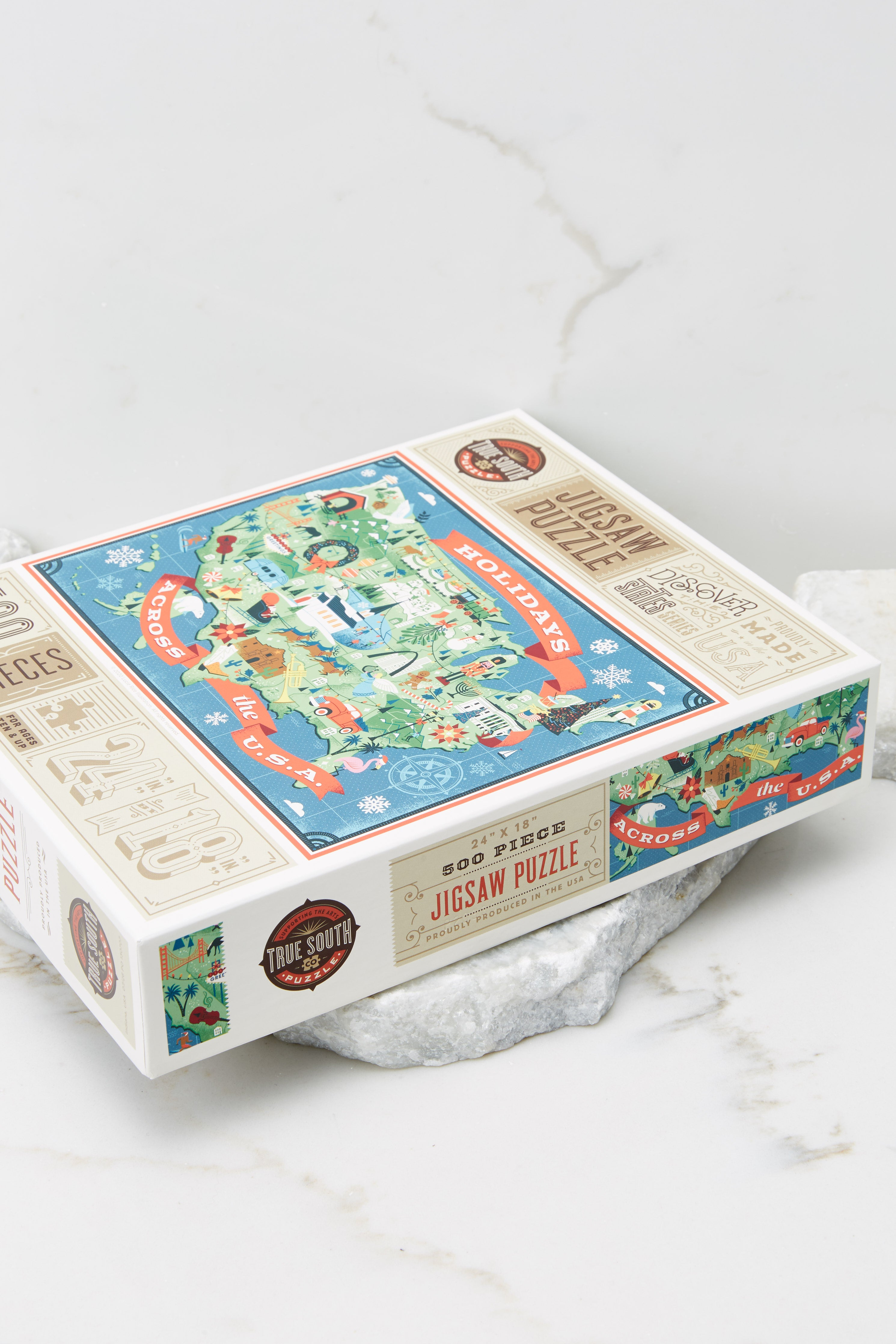 2 Holidays Across The U.S.A Jigsaw Puzzle at reddress.com