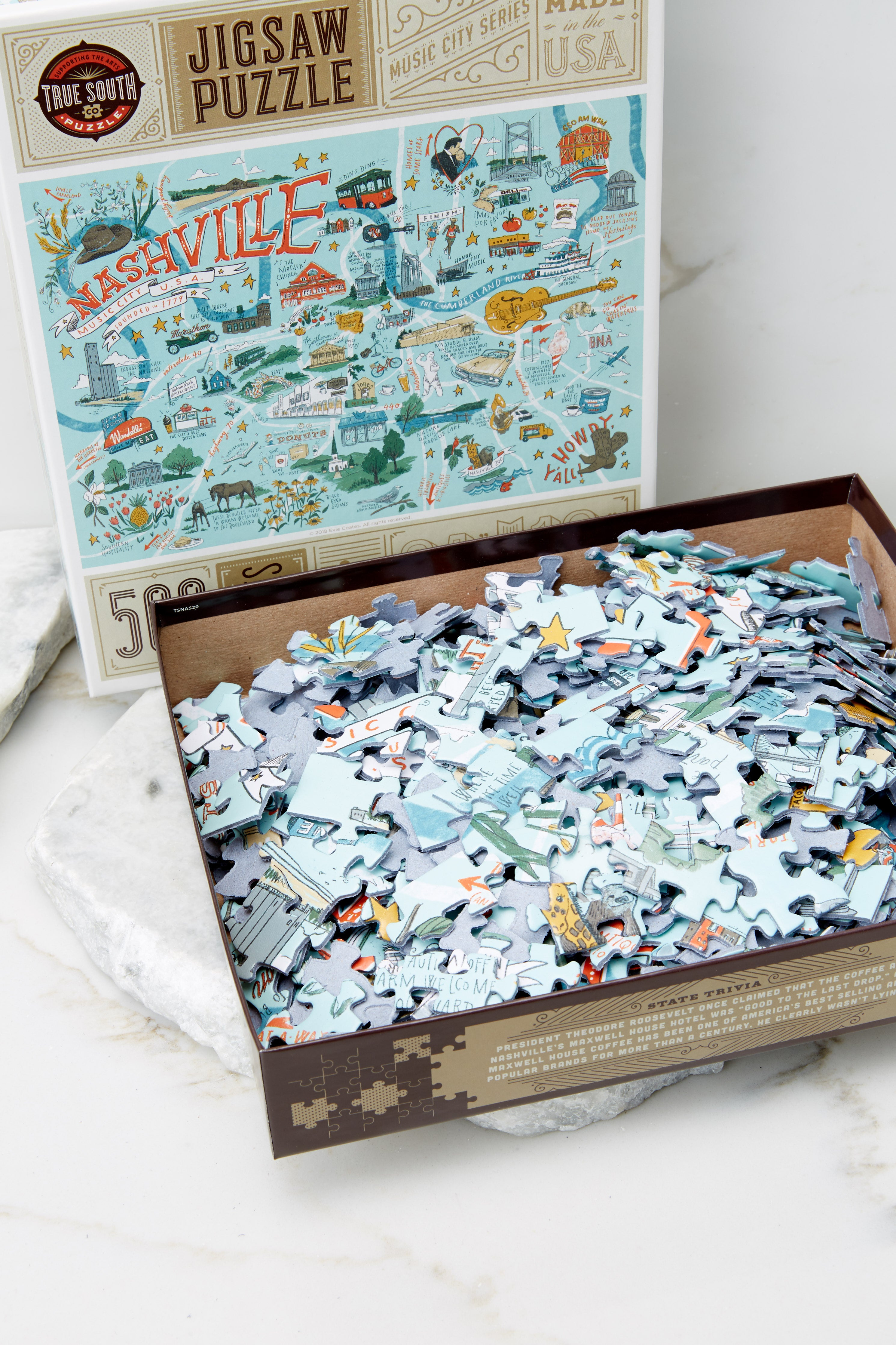 2 Nashville Jigsaw Puzzle at reddress.com