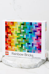 1 Lego® Rainbow Bricks Puzzle at Red Dress