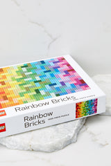 3 Lego® Rainbow Bricks Puzzle at Red Dress