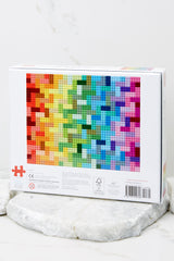 5 Lego® Rainbow Bricks Puzzle at Red Dress