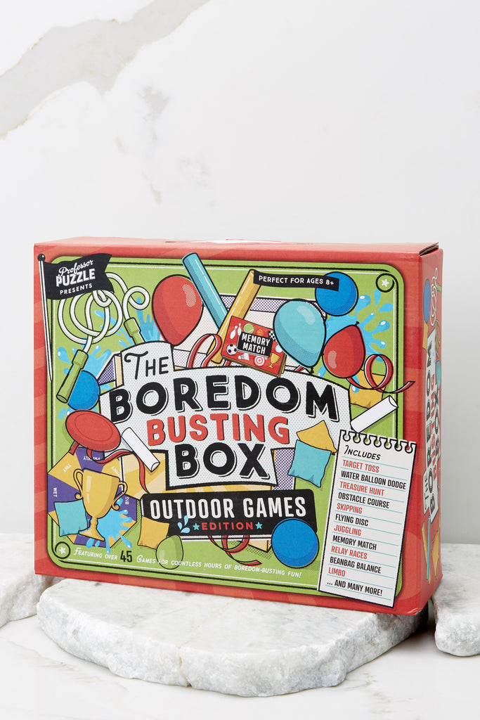 1 The Boredom Busting Box at Red Dress