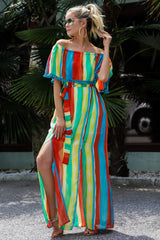 4 Everyday Vacay Maxi Dress In Island Time at reddressboutique.com
