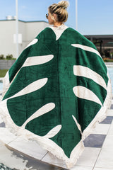 3 All Around Giant Towel In Monstera at reddressboutique.com