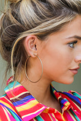 5 Best Believe It Gold Hoop Earrings at reddressboutique.com