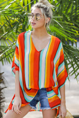 7 Sure Thing Poncho In Summer Heat at reddressboutique.com