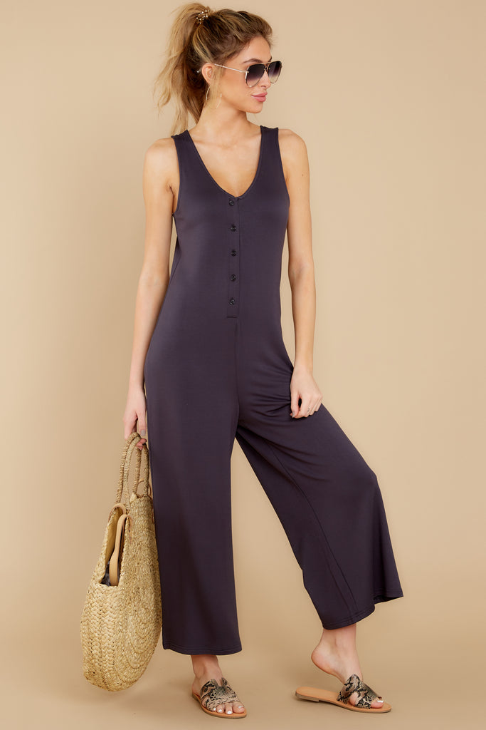 1 Close Enough Black Jumpsuit at reddressboutique.com