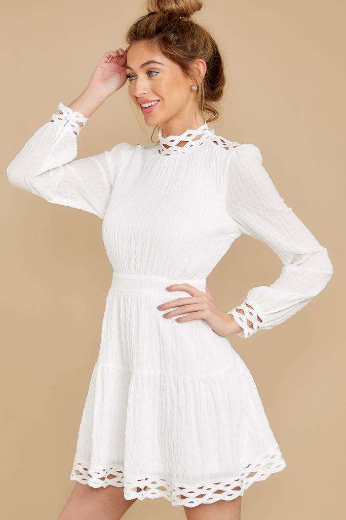 2 Sweet As Ever White Multi Dress at reddress.com