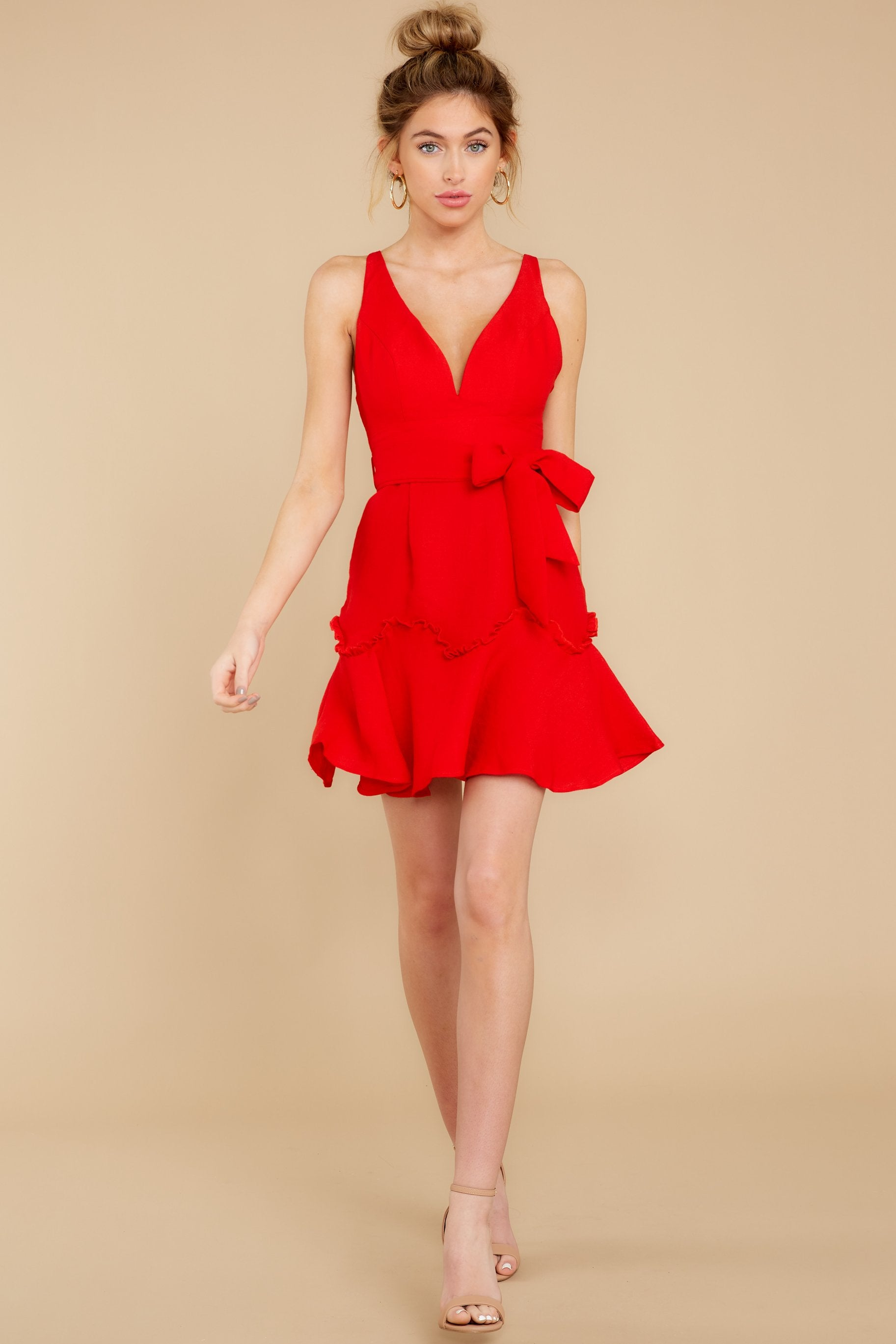 4 Hearts Aflame Red Dress at reddressboutique.com