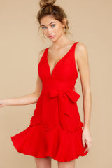 5 Hearts Aflame Red Dress at reddressboutique.com