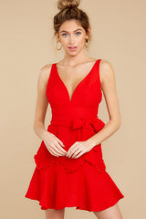 6 Hearts Aflame Red Dress at reddressboutique.com