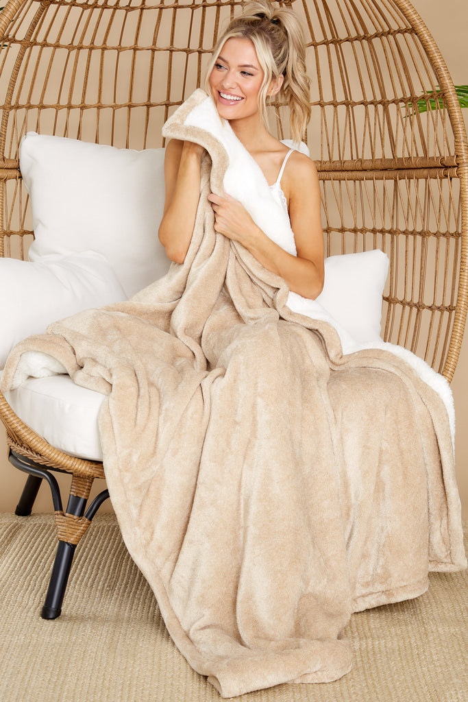 1 Sunday Birch Plush Blanket at reddress.com