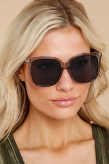 1 So Shady Clear Black Sunglasses at reddress.com