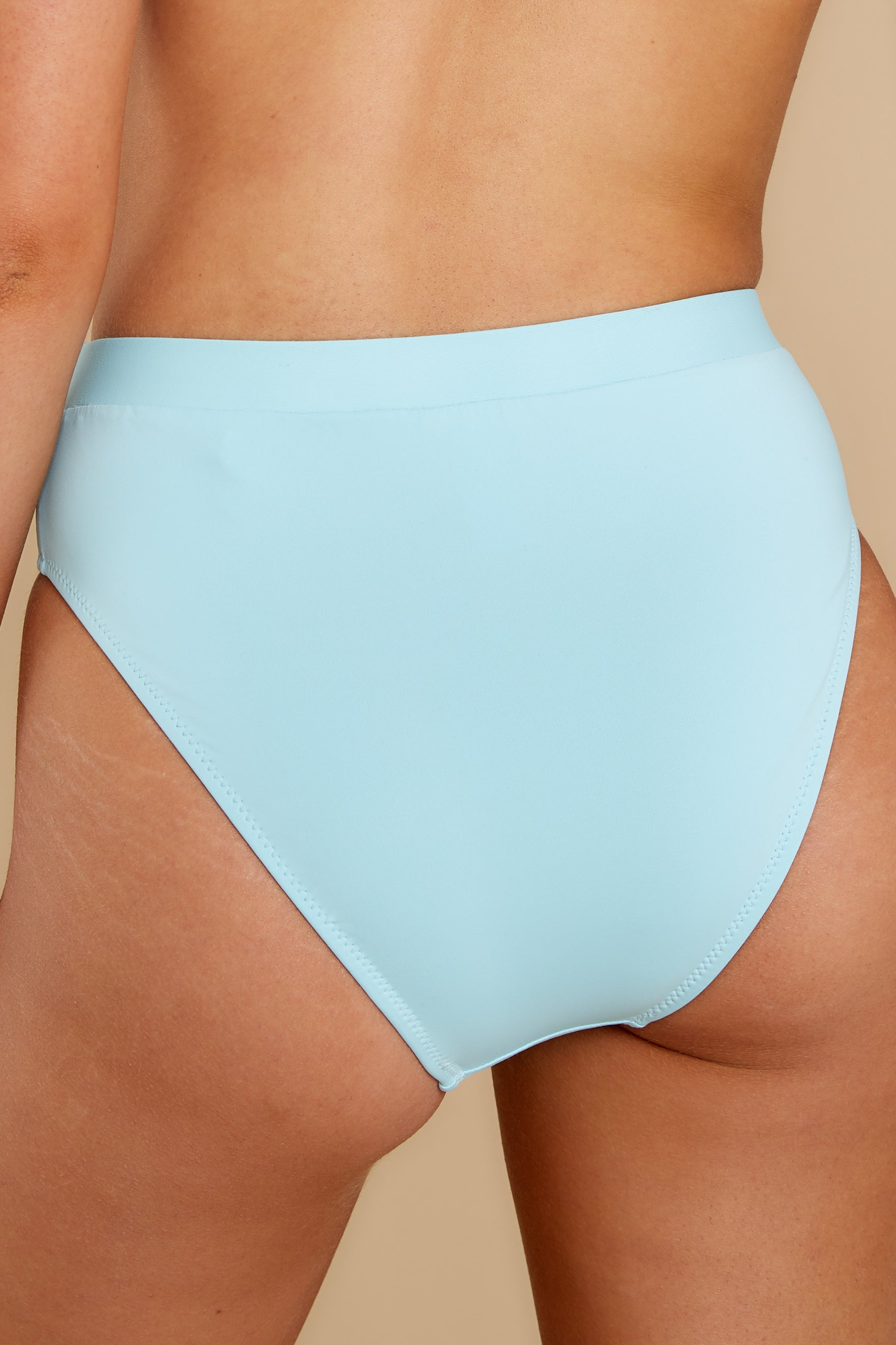 2 Feel The Sunshine Light Blue Bikini Bottoms at reddress.com