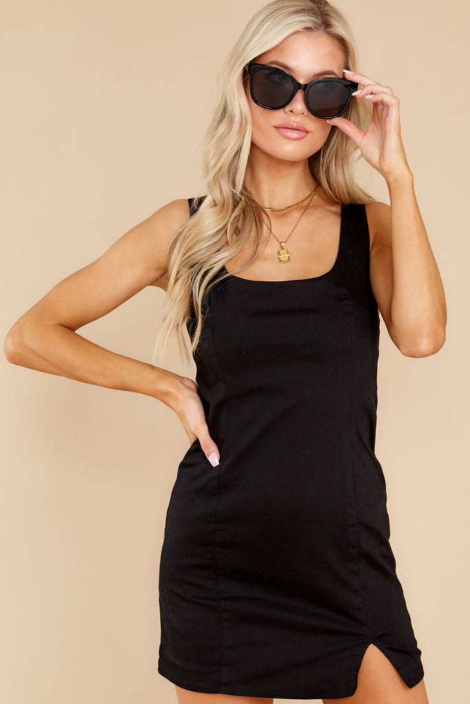 1 A Simple Statement Black Dress at reddress.com