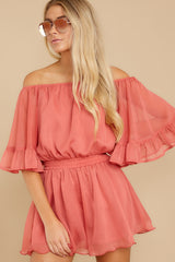 7 A Little Diddy Porcelain Rose Romper at reddress.com