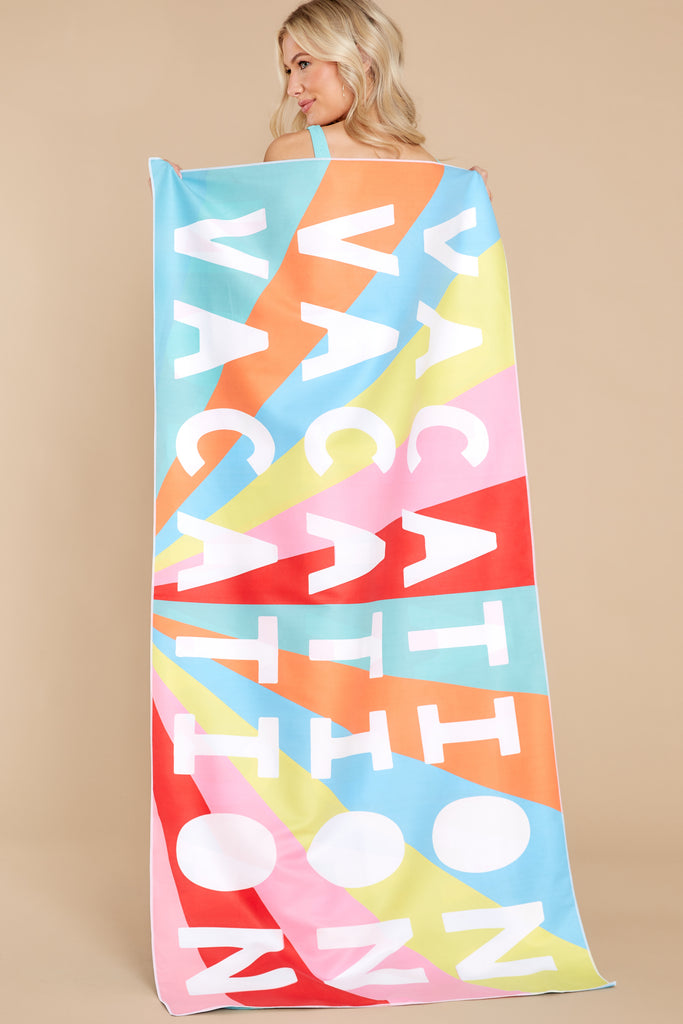1 Sweet Cherry Turquoise Multi Print Scarf at reddress.com