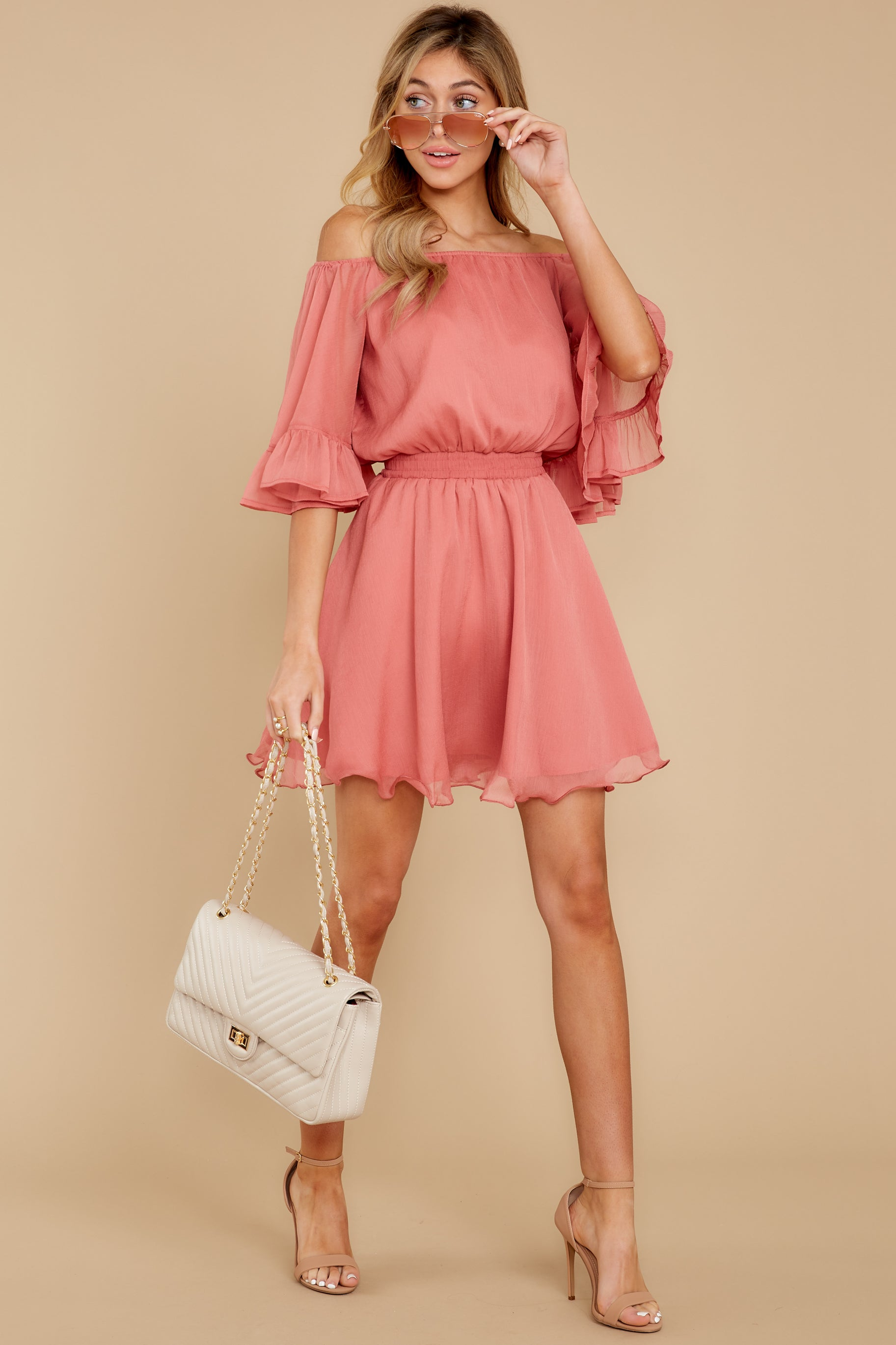1 Effortless Grace Porcelain Rose Dress at reddressboutique.com