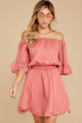 6 Effortless Grace Porcelain Rose Dress at reddressboutique.com