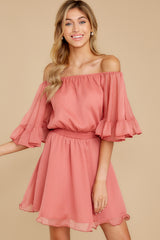 7 Effortless Grace Porcelain Rose Dress at reddressboutique.com